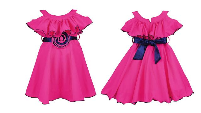 984c71d96 Wish Karo Baby Girls Party wear Frock Dress DN - (fre264) | Female ...