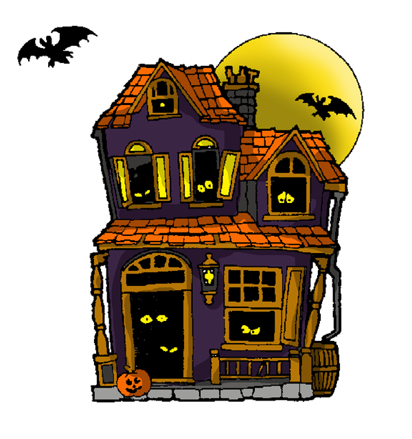 Image result for boarded house cartoon Halloween haunted