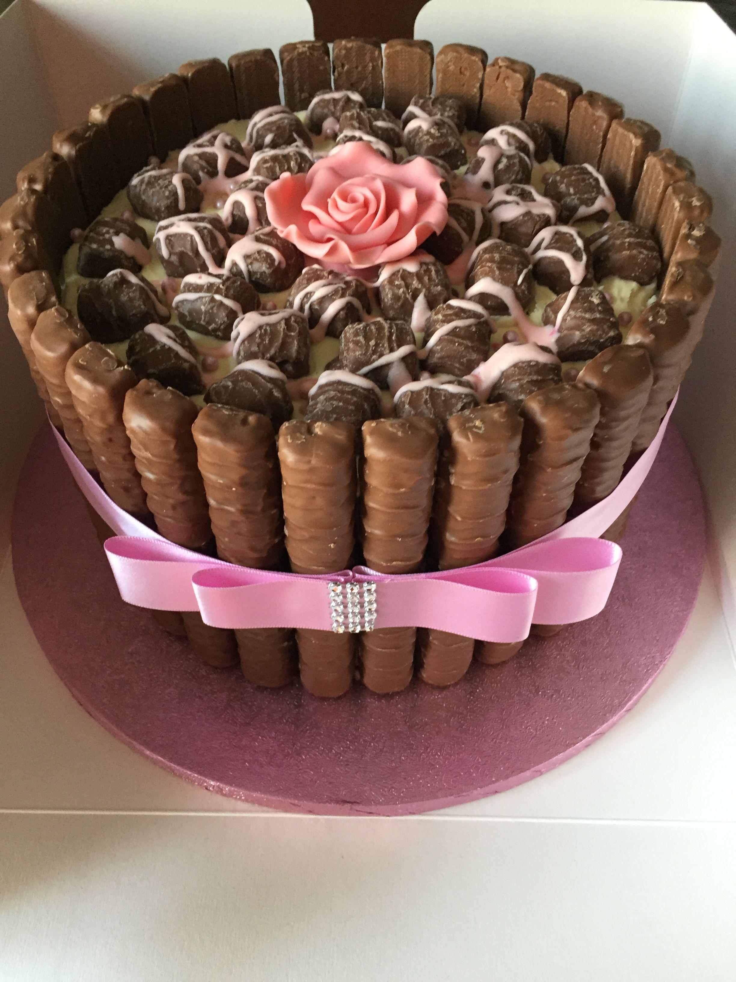 Sensational Twix Birthday Cake By Dawn With Images Twix Cake Birthday Funny Birthday Cards Online Fluifree Goldxyz