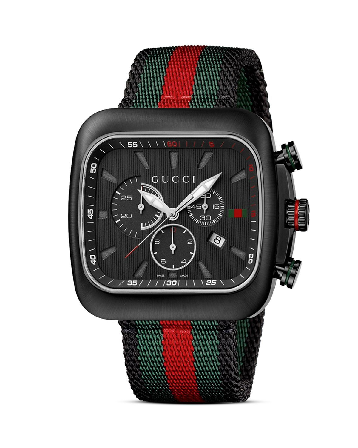 6838b34efc3 The Gucci Coupé range of watches takes inspiration from the House s golden  eras and echoes the fluid lines of a sports car with a rounded-square  silhouette.