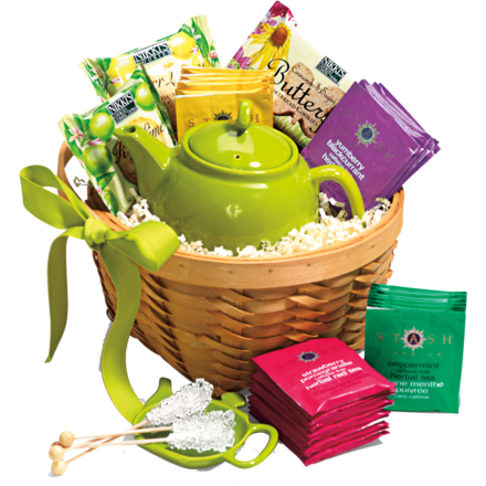 Bridal Shower Door Prize Idea Tea Lover Basket Tea Pot Tea Cup Various Teas Tea Strainer Stir Sticks Etc In 2020 Tea Gift Baskets Tea Gifts Tea Lovers Basket