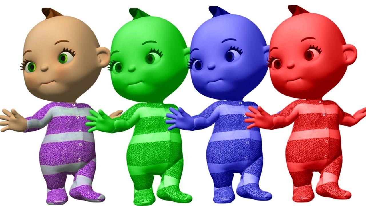 Baby Learn Colors | Toddler Preschool Nursery Rhymes | Color Songs ...