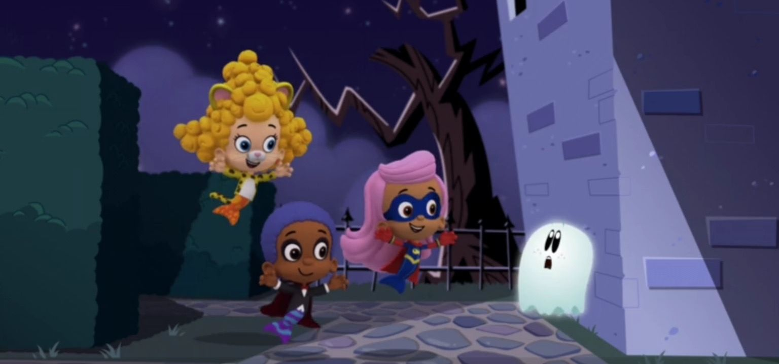 It\'s Halloween On The Bubble Guppies Deema Is Dressed As An Animal ...