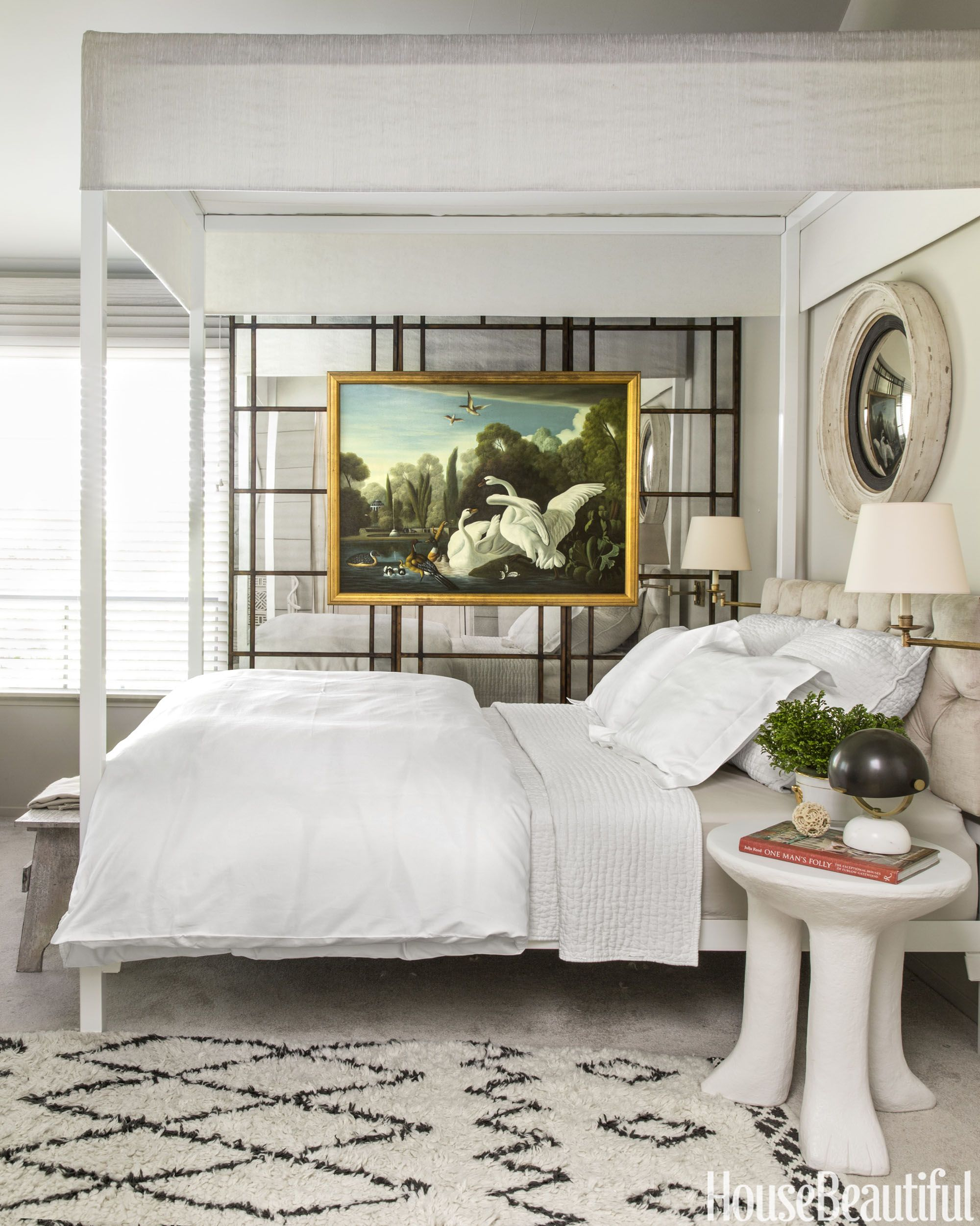 A Canopy Bed By Room & Board, With Pottery Barn