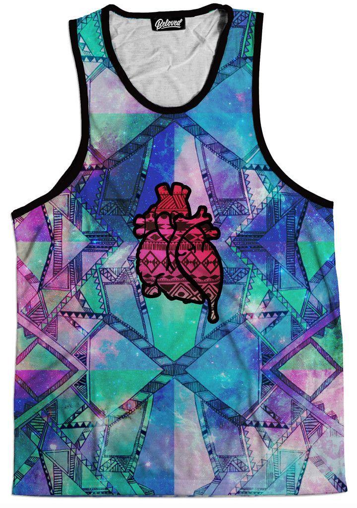 Aztec Heart Tank