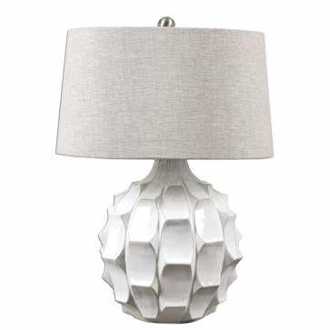 Neruda Scalloped Ceramic Table Lamp Mecox Gardens White Table Lamp White Lamp Ceramic Table Lamps