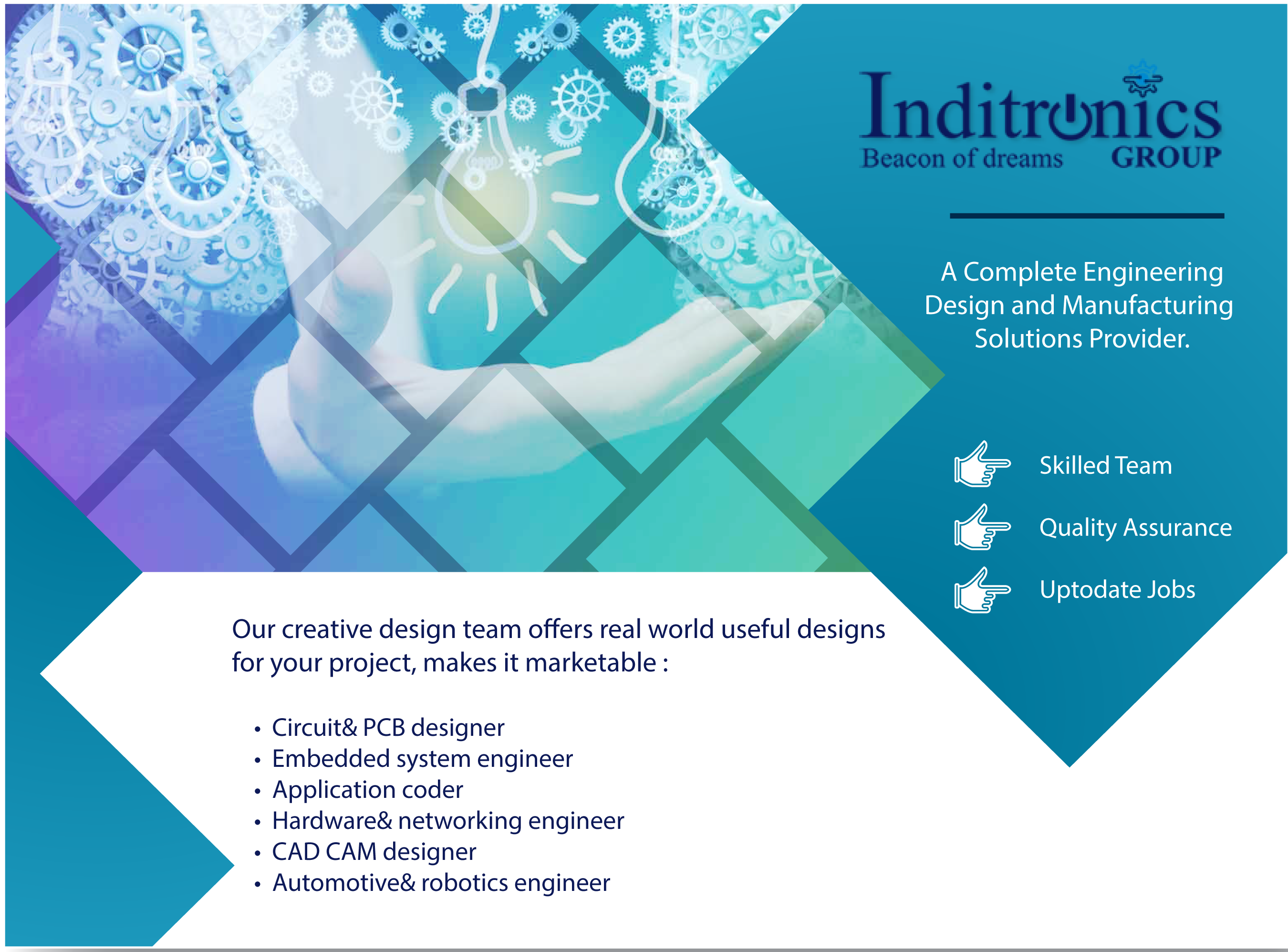 Inditronics Provide Services For Global Clients With Complex Electronic Manufacturer Pcb Designassembly Circuit Challenges From Around The World Get Guidance