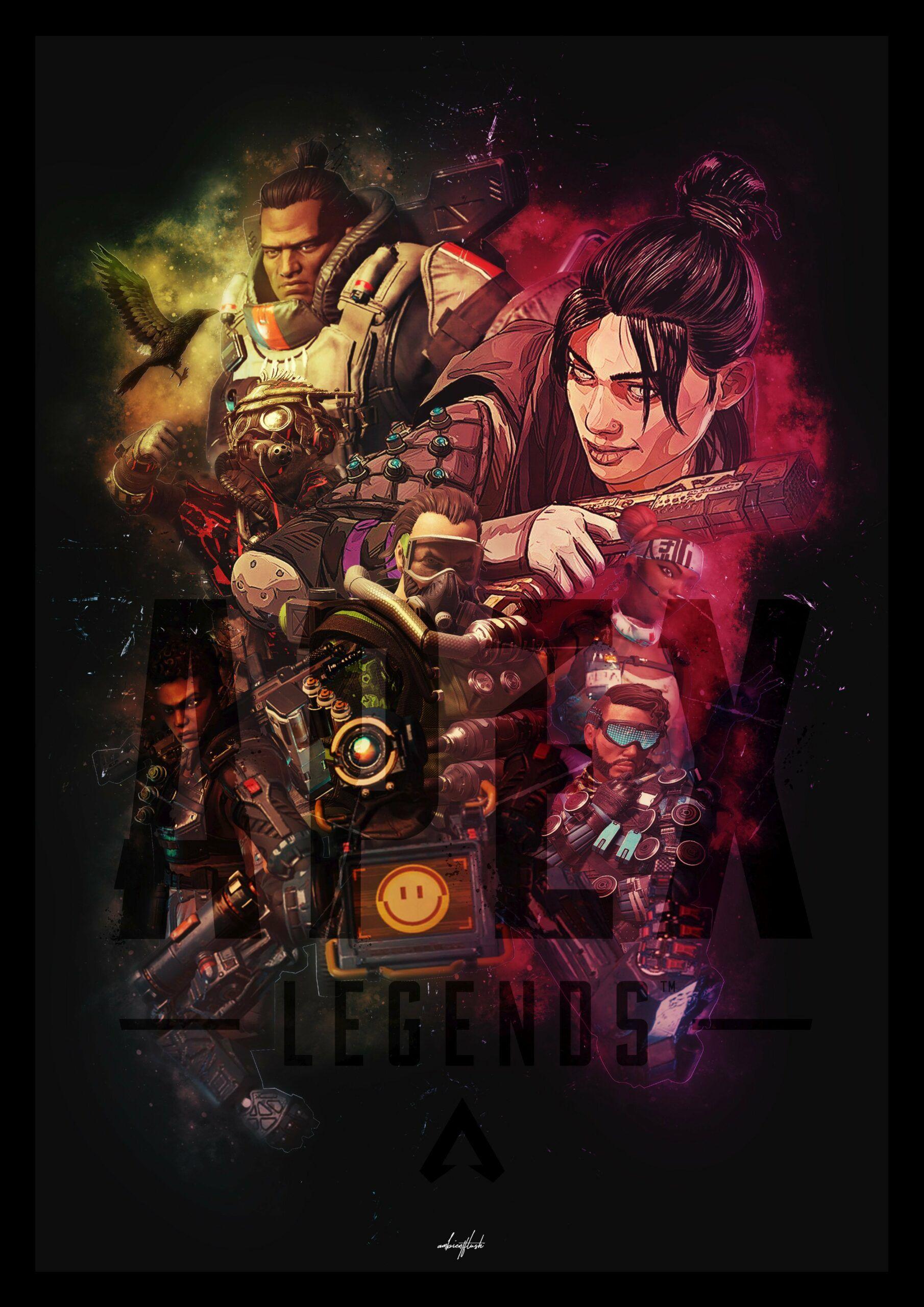 Apex Legends Wallpaper 4k Crypto Apex Anime Background Legend