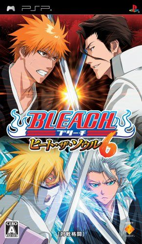 Bleach Heat The Soul 6 Psp Game New Japanese Import 52 82