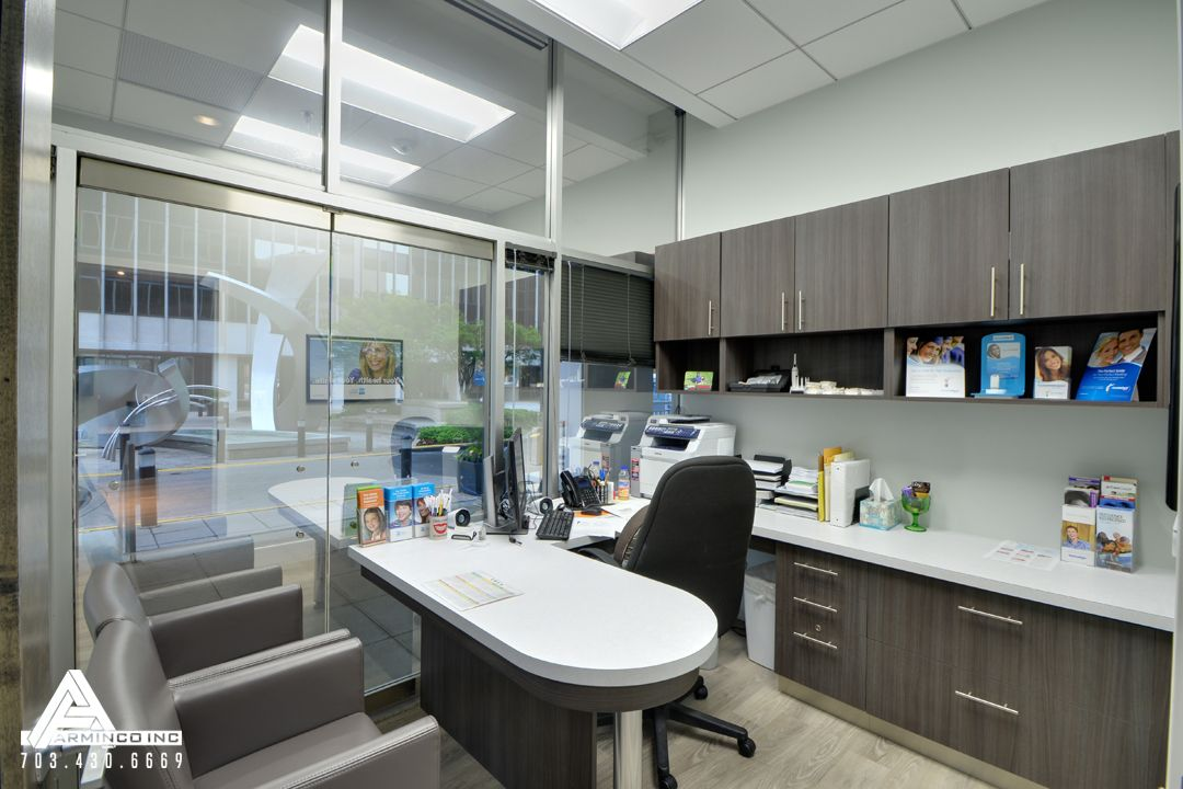 Natural And Modern Consultation Room Dental Office Design By Arminco Inc