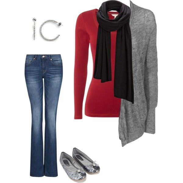 Casual Christmas Party Ideas Part - 27: Casual Christmas Party Outfit Idea