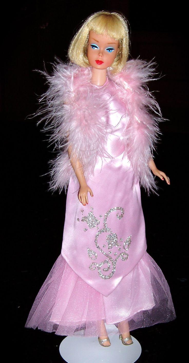 1966 Barbie Pink Formal from Sears   Dolls   Pinterest   Barbie