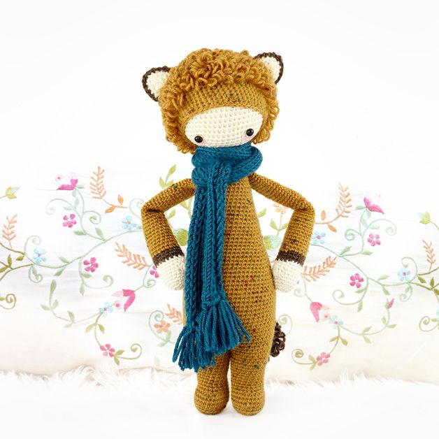 León LONI • lalylala patrón de crochet | Amor and Crochet
