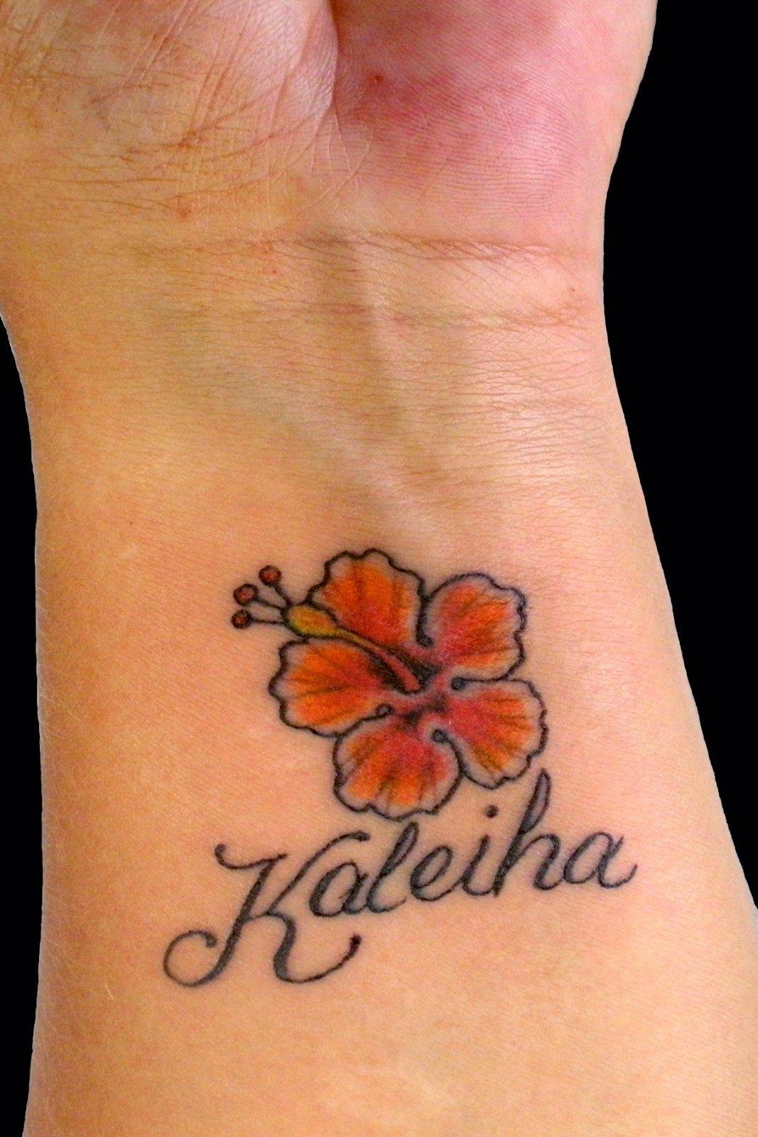 Sweet Trade Tattoo Maui Hawaiian Flower Tattoos Hawaiian Tattoos