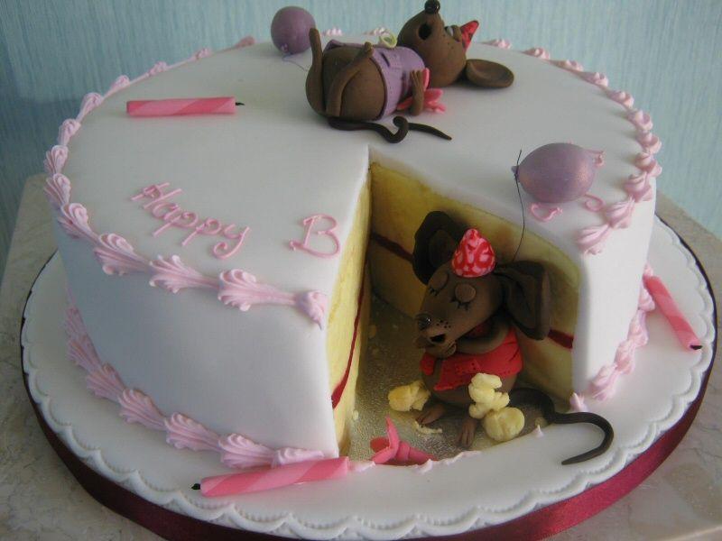 Emma Mice Eating Cake carolina Pinterest Creative cakes