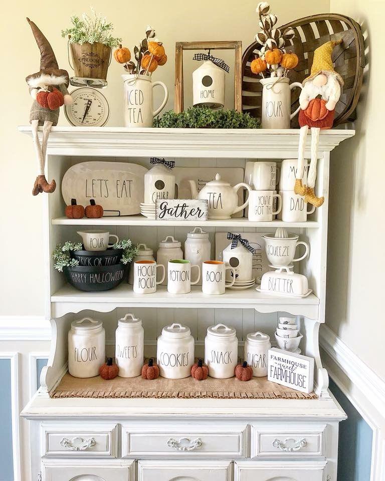 Rae Dunn Halloween Decor Home Decor Decor Farmhouse Shelves Decor
