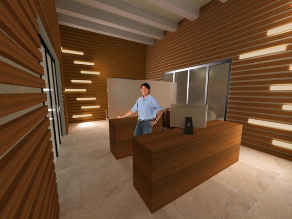 Lighted wood slat walls work pinterest wood slat for Wood slat wall design