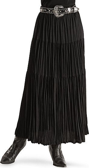 ff540fef0 Classic Broomstick Skirt - nice in black, especially with these accessories.