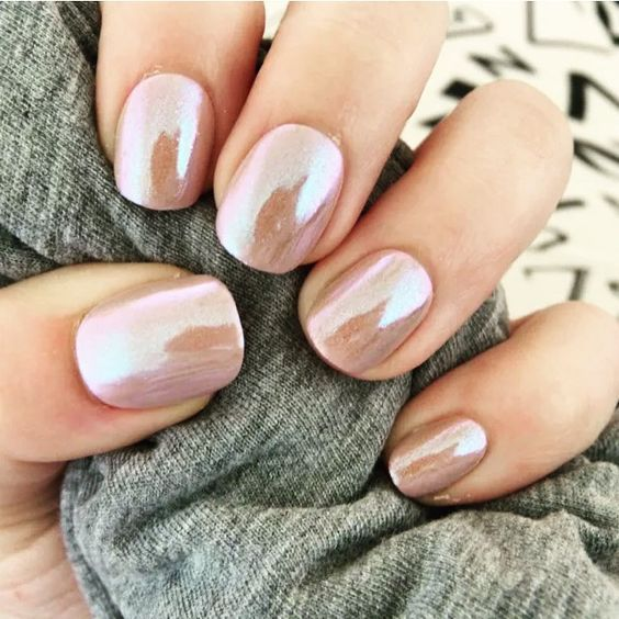 Top 40 Gorgeous Metallic Nail Designs that you can try to copy ...