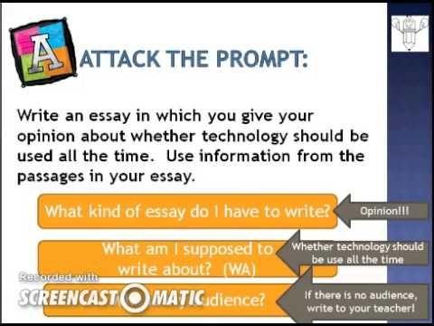 Attack the Prompt - FSA writing | School Ideas for 5th Grade ...
