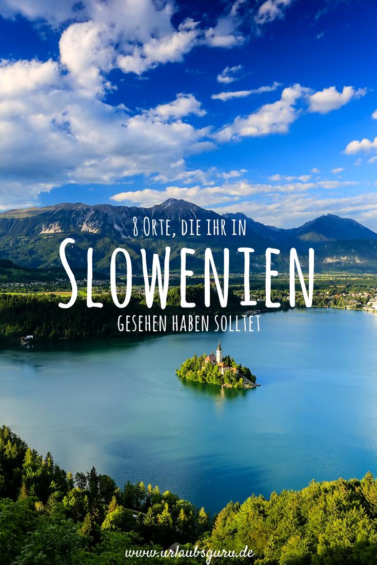 Slowenien - ein Schmuckstück für eure Bucketlist #vacationdestinations