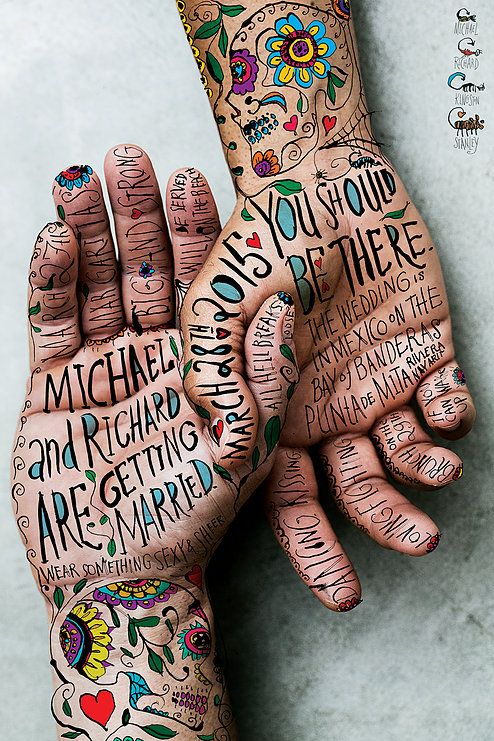 Agency: Mutt Industries and Seth Conley   Project: MICHAEL & RICHARD   Category: Poster Design