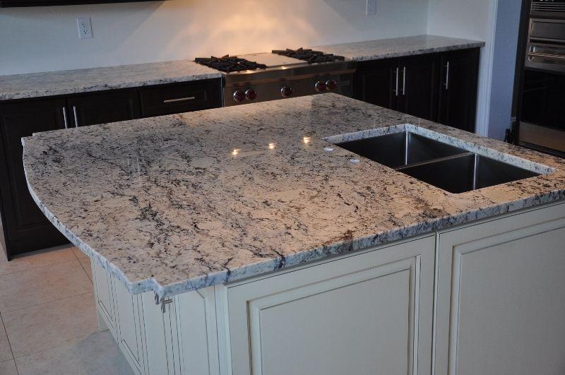 Kitchen Countertops Bathroom Vanities – White Ice Granite Kitchen