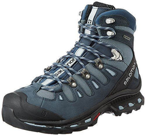 Salomon Womens Quest 4d 2 Gtx W Backpacking Boot Deep BlueStone BlueLight  Onix 7 M US 06c39aeae62