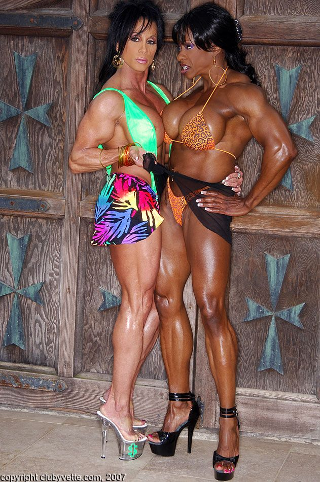 Muscle women sex lynn mccrossin