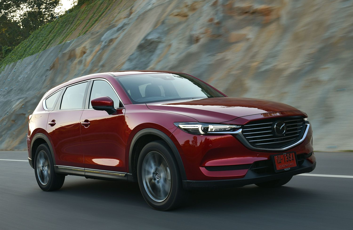 Mazda CX8 2.5 Turbo SP (2020) review ในปี 2020