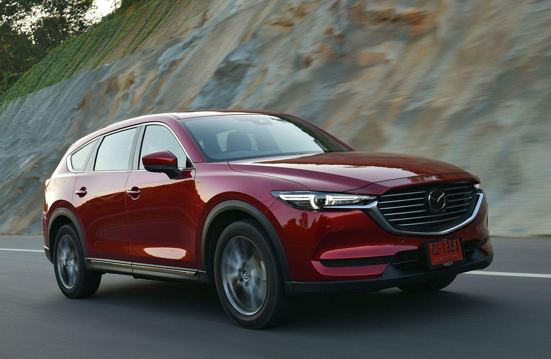 Mazda CX8 2.5 Turbo SP (2020) review ในปี 2020