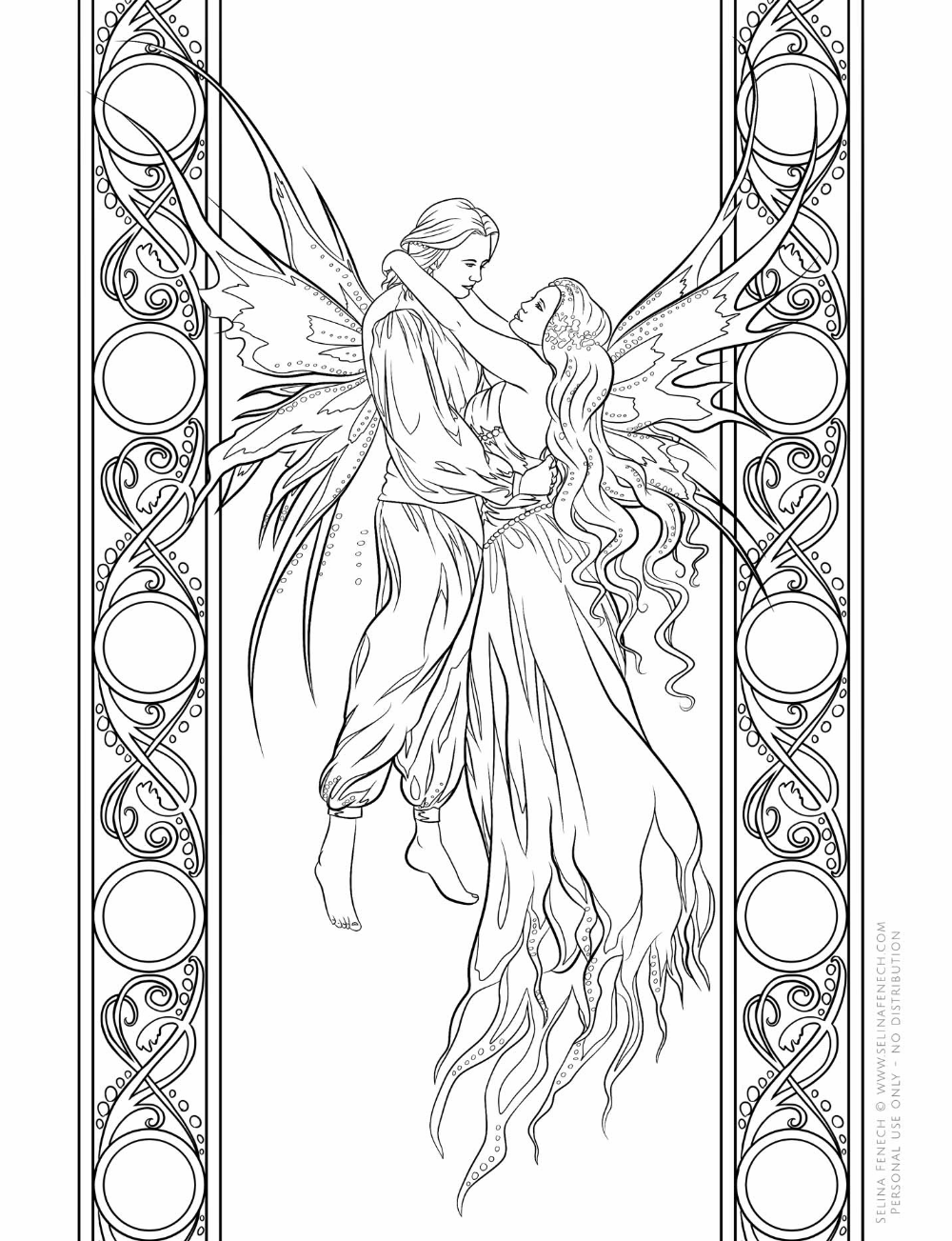 Happy Thoughts Artist Selina Fenech Fairy Companions Coloring Book Fairy Coloring Pages Cool Coloring Pages Coloring Books [ 1303 x 1000 Pixel ]