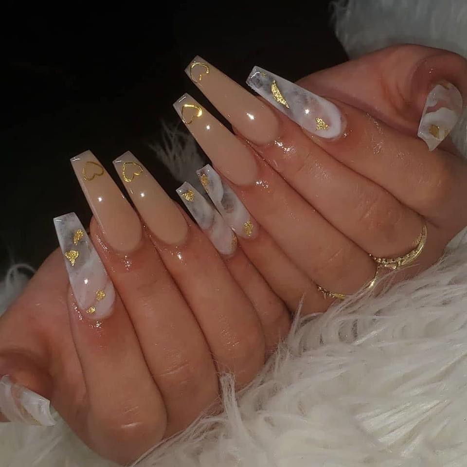 Pin By Yaejin Pak On Nails In 2020 Long Acrylic Nails Coffin Ombre Acrylic Nails Best Acrylic Nails