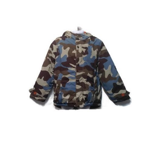 bd01b0102 Mini Boden Boys Size 5-6 Winter Camo Anorak Jacket Lined Fleece ...