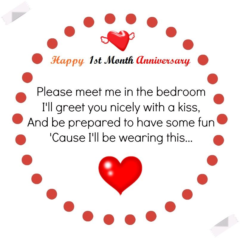 Happy One Month Anniversary Poems And Quotes Anniversary Quotes For Couple Anniversary Quotes For Him Happy New Month Messages