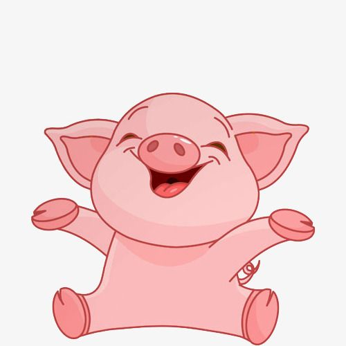 Happy Pig Pig Clipart Happy Piggy Png Transparent Clipart Image And Psd File For Free Download Happy Pig Pig Cartoon Pig Clipart