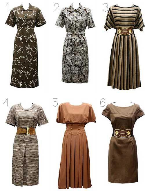 Image detail for -Fashion finds: vintage dresses | Fashion Online ...