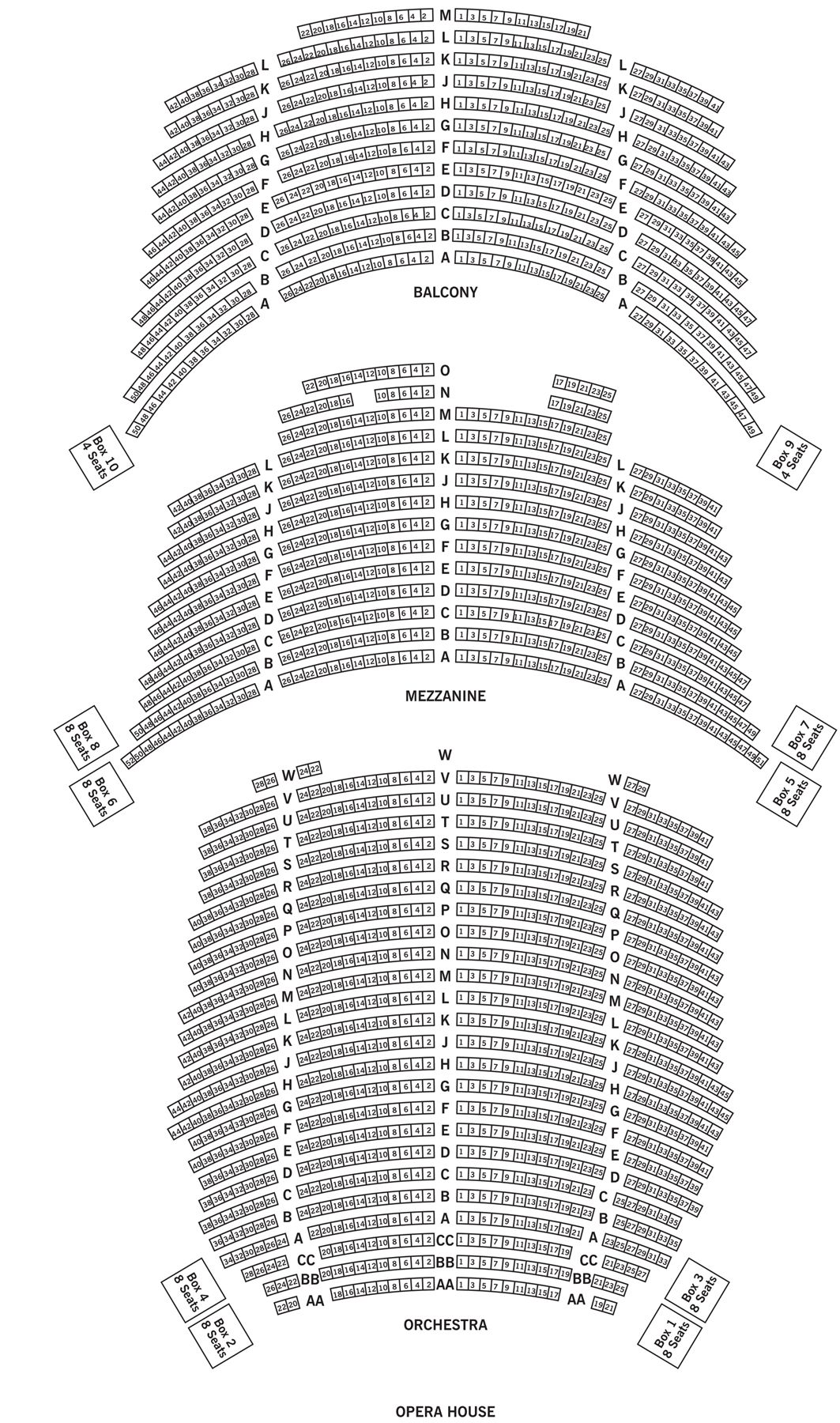 Brooklyn Academy Of Music Seating Chart