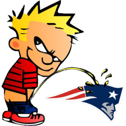 Piss on new england patriots