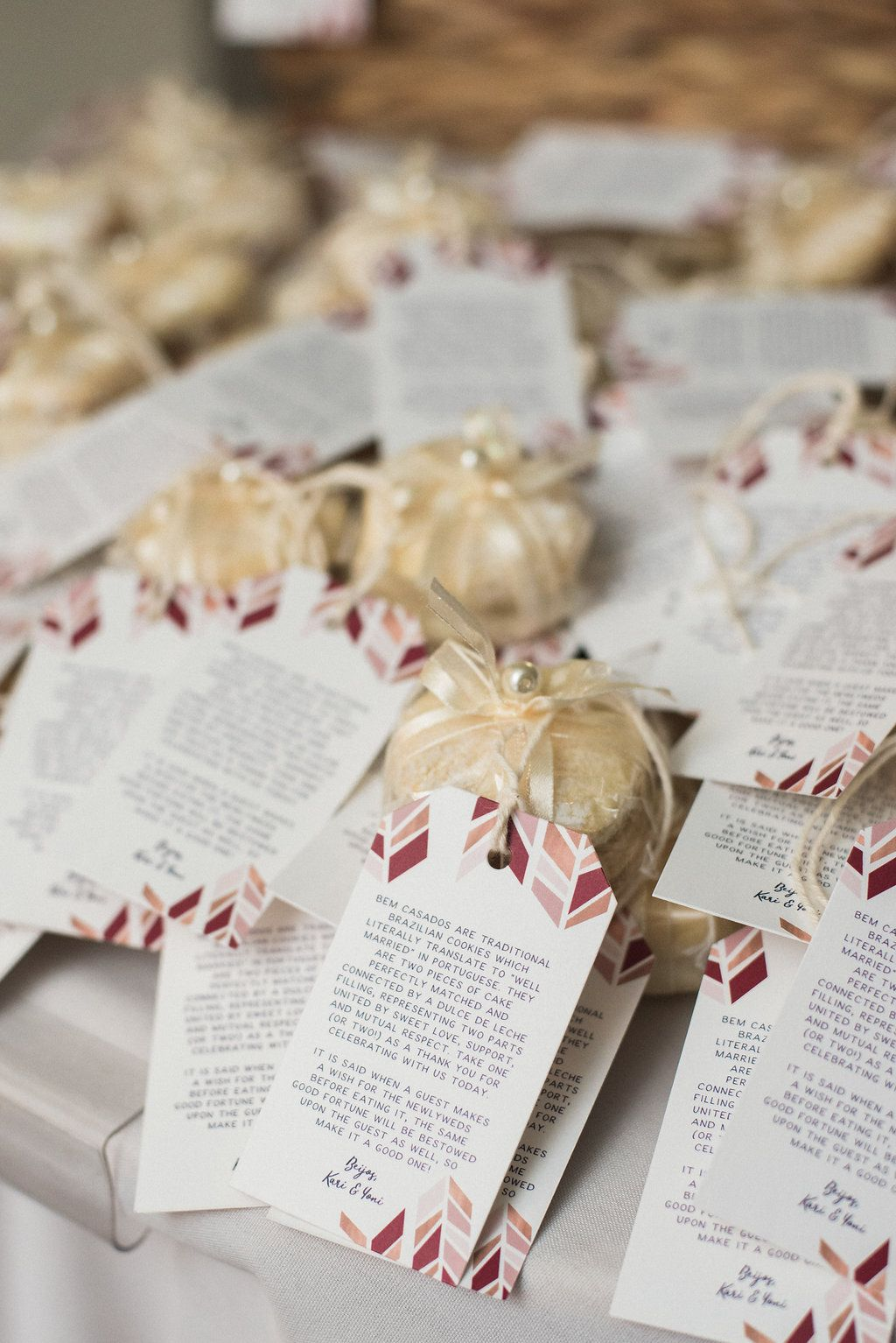 More from Kari\'s AMAZING wedding. Custom favor tags by Miss Design ...