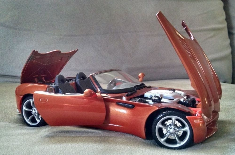 1/18 Dodge Copperhead Diecast - Dodge Concept Car Maisto - Dodge Copper Head #Maisto #Dodge