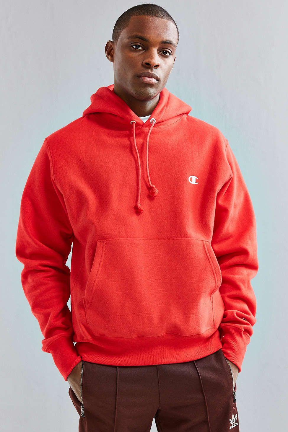 Champion Reverse Weave Hoodie Sweatshirt | mens | Hoodies ...
