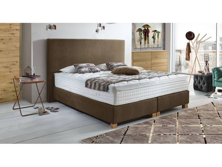 Photo of Box spring bed handmade 140×200 cm anthracite configurable – Independe