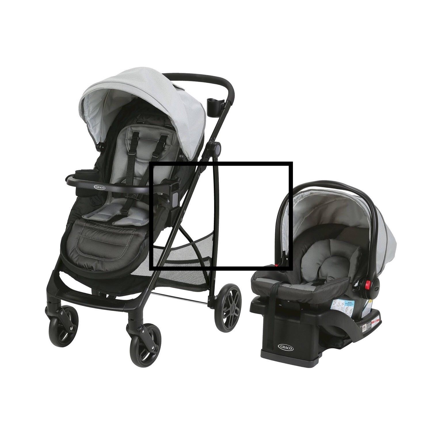 Graco Remix Travel System with Snugride 35 Baby