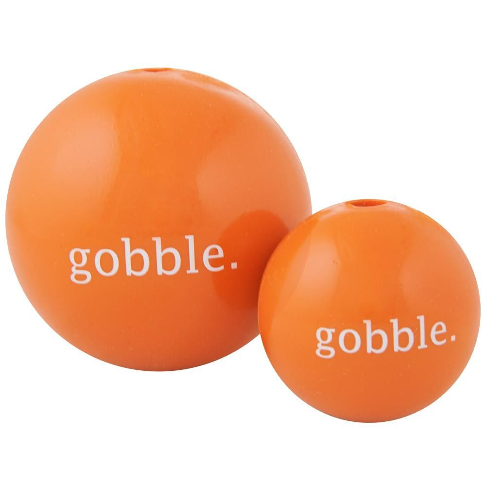 Orbee Tuff Gobble Ball Dog Toy By Planet Dog Durable Dog Toys