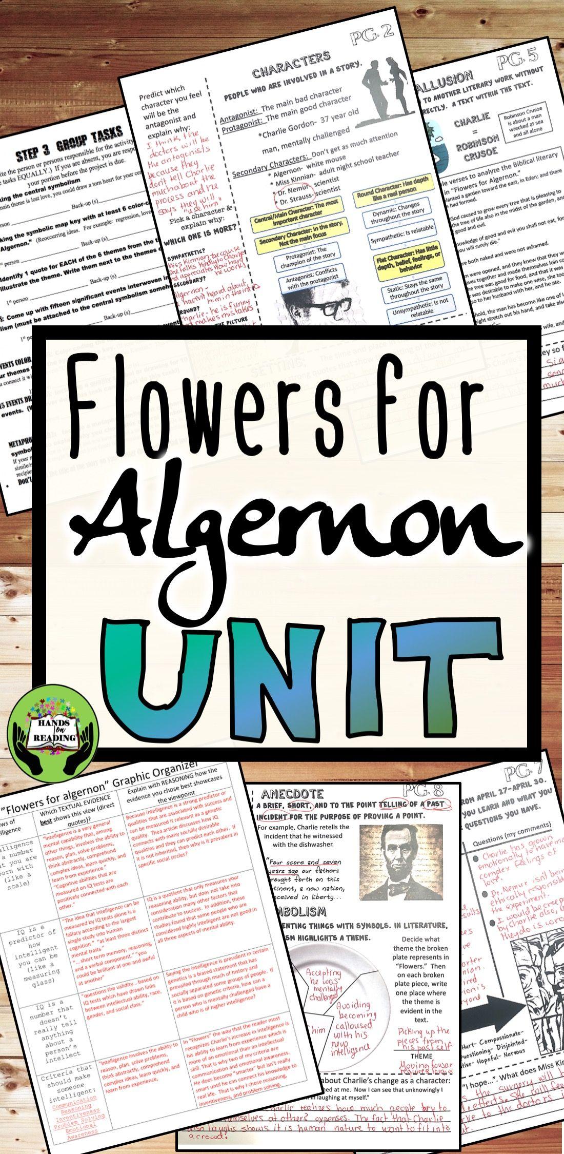 Flowers For Algernon Unit