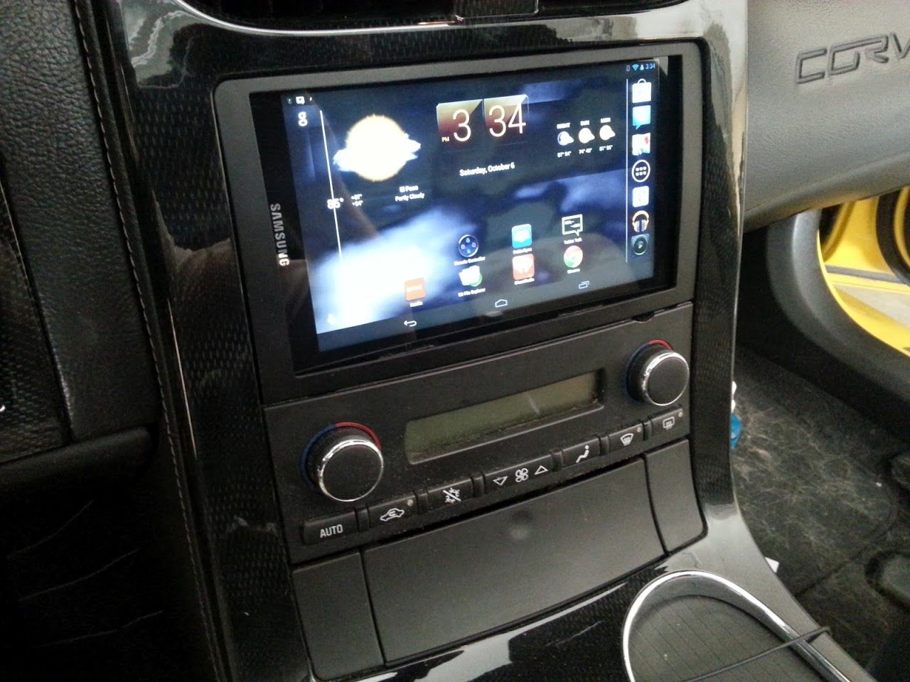 Android 7 Tablet Install In A C6 Corvette Forum Technology System Diagram Page 10 Car Audio Diymobileaudiocom Stereo