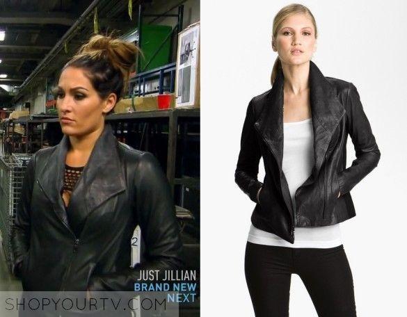Total divas season 5 episode 4 nikki 39 s leather jacket tv show fashion style and clothes - Fashion diva tv ...