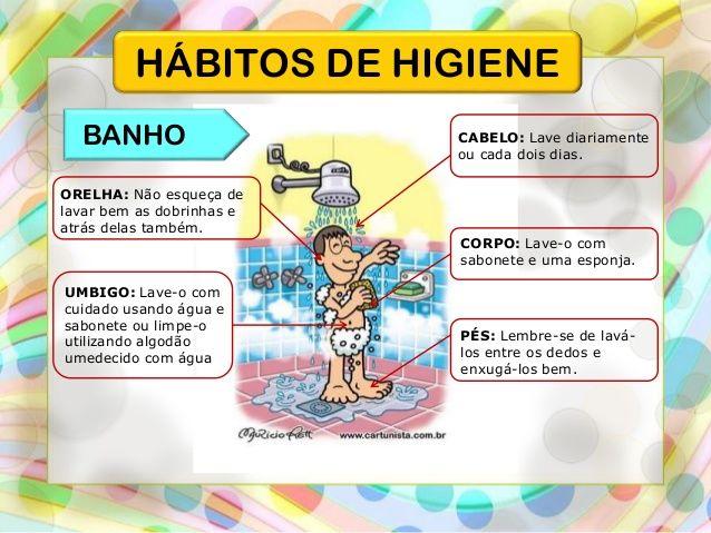 Higiene Para Banheiro : Higiene pessoal objetivos espec?ficos pesquisa google