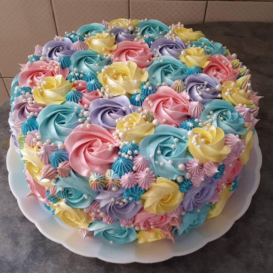 Parceirosamelialinoo Amelialinofipan2018 Brazilflowercake Flowercake Fipan2018 Confeitaria Buttercreamflow Cake Decorating Cake Cupcake Cakes
